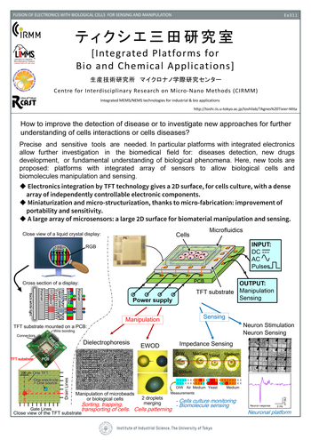 Integrated Platforms for Bio and Chemical Applications